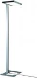 Lampa de podea LED, Vitawork 12 Asymmetric PIR, 86 W, 1566-12000 lm, 2700-6500 K, argintiu metalic/negru Luctra