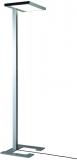Lampa de podea LED, Vitawork 12 Symmetric Dim, 86 W, 1566-12000 lm, 2700-6500 K, argintiu metalic/negru Luctra