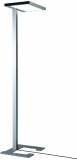 Lampa de podea LED, Vitawork 7 Asymmetric PIR, 45 W, 1566-7000 lm, 2700-6500 K, argintiu metalic/negru Luctra