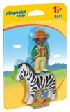 Padurar Cu Zebra Playmobil