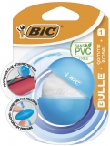 Radiera in carcasa de protectie, diverse culori, Bulle Bic
