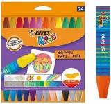 Creioane pastel Kids Oil Pastel 24 buc/set Bic