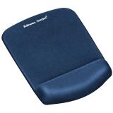 Mousepad cu suport pentru incheietura PlushTouch™ Fellowes albastru