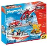 Misiunea De Salvare A Pompierilor Playmobil