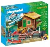 Casuta De Lemn Pe Lac Playmobil