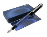 Stilou Souveran M405 F negru-albastru Pelikan