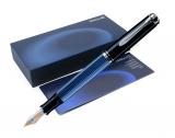 Stilou Souveran M805 F negru-albastru Pelikan