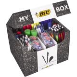 Set My Box Collection, 124 instrumente de papetarie Bic