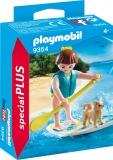 Figurina Surfer Si Catel Playmobil