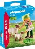 Figurina Fermiera Cu Oite Playmobil
