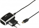 Incarcator priza Quick & Travel Charger, micro USB Hama