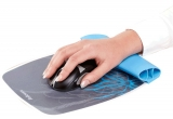 Mousepad cu suport incheietura Rocker Fellowes vine pattern
