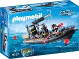 Barca Echipei Swat Playmobil