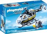 Elicopterul Echipei Swat Playmobil