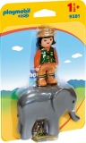 1.2.3 Ingrijitor Zoo Cu Elefant Playmobil