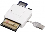 Card reader All in One Basic, USB 2.0, alb Hama