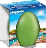Pusculita Ou-Ingrijitoare Zoo Playmobil