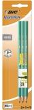 Set Evolution 650, 3 creioane grafit HB Evolution, 1 radiera, 1 ascutitoare Bic