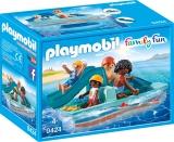 Familie Cu Hidrobicicleta Playmobil