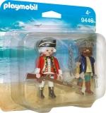 Set 2 Figurine - Pirat Si Soldat Playmobil