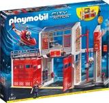 Statie De Pompieri Playmobil