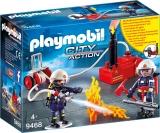 Pompieri Cu Pompa De Apa Playmobil