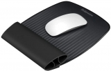 Mousepad cu suport pentru incheieturi I-Spire, negru, Fellowes