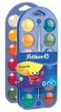 Acuarele 2 in 1 tip pastila 24 culori Pelikan