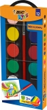 Acuarele 12 culori Bic