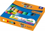 Plastilina 6 culori Kids Bic