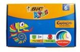 Guase 6 culori Bic