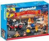 Calendar Craciun - Operatiunea Pompierilor Playmobil
