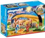 Scena Nasterii Domnului Cu Lumina Playmobil