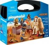 Set Portabil - Egipteni Cu Comoara Playmobil