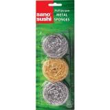Burete inox Sushi Metal 3 buc/set Sano