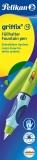 Stilou pentru stangaci Griffix verde cutie carton Pelikan