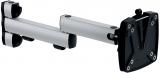 Suport monitor brat extensibil orizontal, clema VESA, 2 parti, TSS II, argintiu/antracit Novus