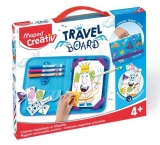 Set Creativ Travel Board Cavaleri si printese Maped