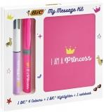 Set My Message Kit I am a Princess, 3 piese/set Bic