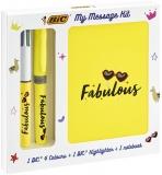 Set My Message Kit Fabulous, 3 piese/set Bic