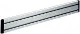 Element suport perete organizational birou SlatWall, 80 cm, argintiu Novus