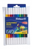 Carioci Colorella Duo 10 bucati/set BL Pelikan