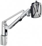 Suport extensibil monitor, clema VESA, arcuri pe gaz, adaptor coloana, argintiu TSS-LiftTEC-Arm I Novus