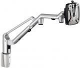 Suport extensibil monitor, clema VESA, arcuri pe gaz, adaptor coloana, argintiu TSS-LiftTEC-Arm III Novus
