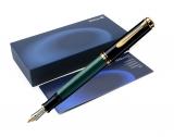 Stilou Souveran M400 F negru-verde Pelikan