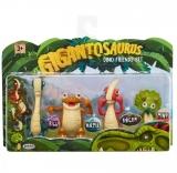 Set 4 figurine , Dino Friends, Gigantosaurus