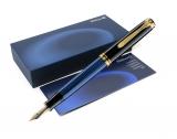 Stilou Souveran M800 F negru-albastru Pelikan
