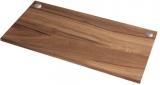 Blat de lucru superior pentru birou reglabil pe inaltime, culoare nuc, 140 cm Fellowes