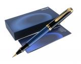 Roller Souveran R400 negru-albastru Pelikan