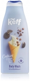 Gel de dus Body Wash Ice Cream Cookie Cream 500 ml Sano Keff